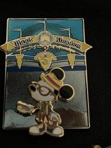 Magic Kingdom Mickey cast exclusive  pin