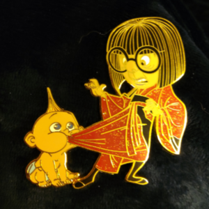Babysitting Edna pin
