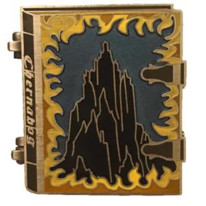 Villains' Vault - Chernabog Story Book pin