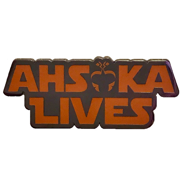 shopDisney/Her Universe - Star Wars - Ahsoka Lives pin