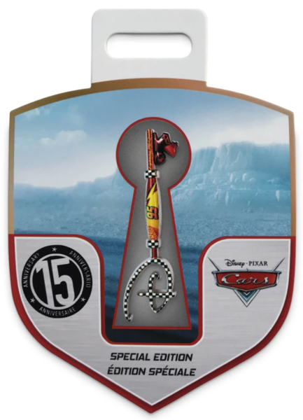 pin Cars 15th Anniversary Collectible Key Pin – Special Edition