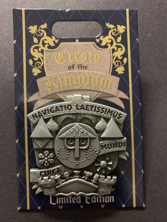 Crests of the Kingdom Small World pin