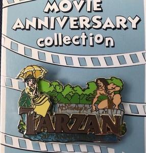 Cast Member Movie Anniversary Tarzan pin pin