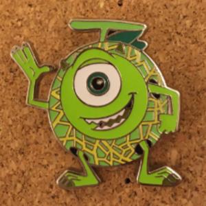 Melon Mike Wazowski - HKDL Game Prize pin pin