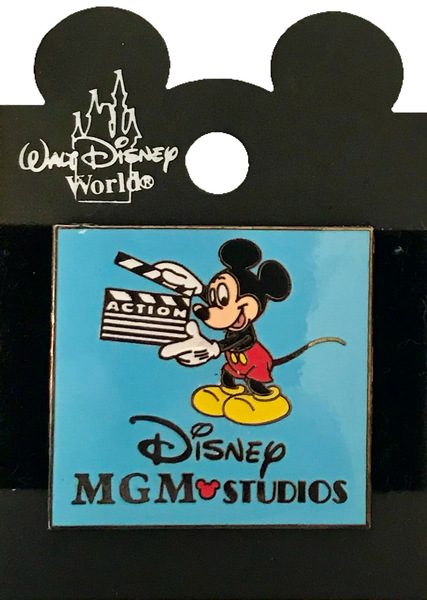 """WDW - Disney • MGM Studios –Mickey with """"Action"""" Clapboard pin"""