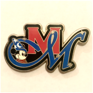 Disney Store CM Exclusive: 2012 Mission Magic pin