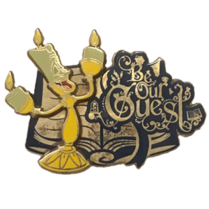 Disney Store Cast Exclusive - Be Our Guest (2016) pin