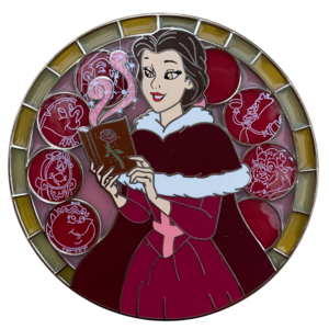 Disney Coven Collection: Belle the Scholar Witch pin