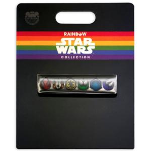 Star Wars Icons Pin – Rainbow Star Wars Collection pin