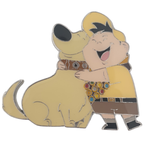 Dug and Russell hug - Disneyland Paris pin