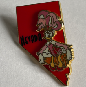 Nevada - State Characters pin