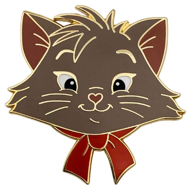 Berlioz - Madame Catspurrr - Aristocats heads引脚