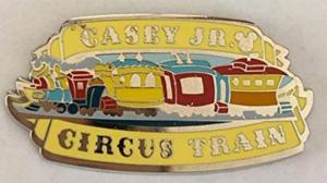Casey Jr. Circus Train - Hidden Mickey Attractions pin