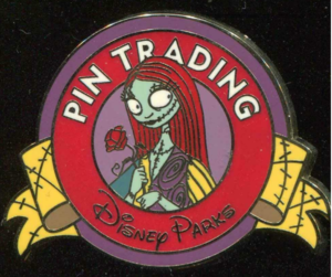 Sally (Color) - Keep on Trading Mystery Collection pin