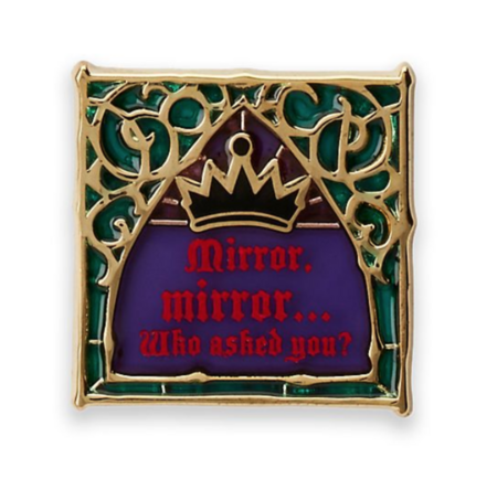 Mirror, mirror... Who asked you?  pin