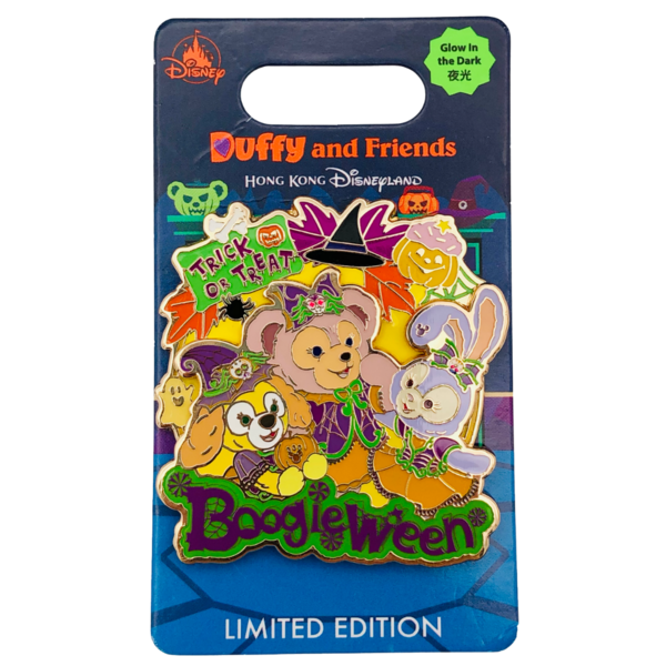Trick or Treat - Boogieween - Hong Kong Disneyland pin