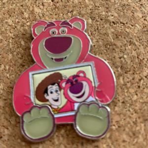 Lotso and Woody  pin