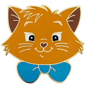 Toulouse - Madame Catspurrr - Aristocats heads pin