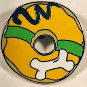Pluto - Donut Mystery pin