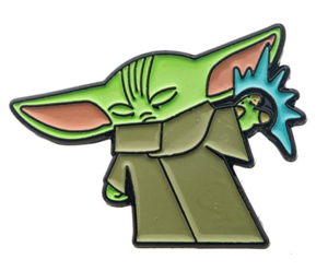 Amazon Exclusive Grogu Using The Force pin