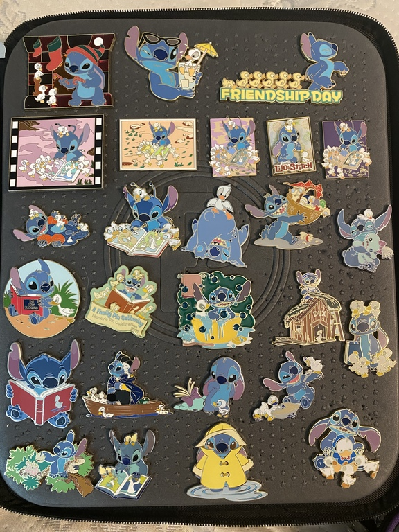 Some of Stephanie's Stitch collection