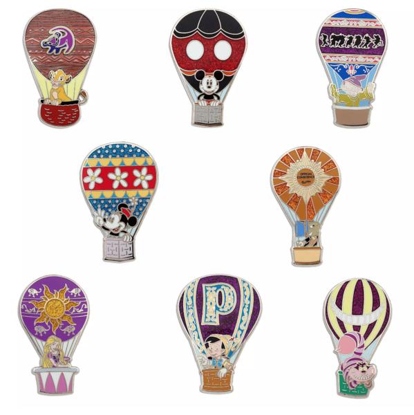 Dopey - Hot Air Balloon pin