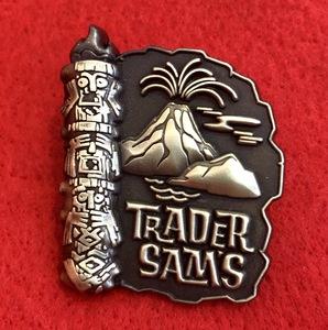 Trader Sam's pin