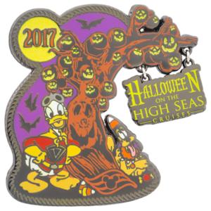 Halloween on the High Seas Cruises 2017 pin