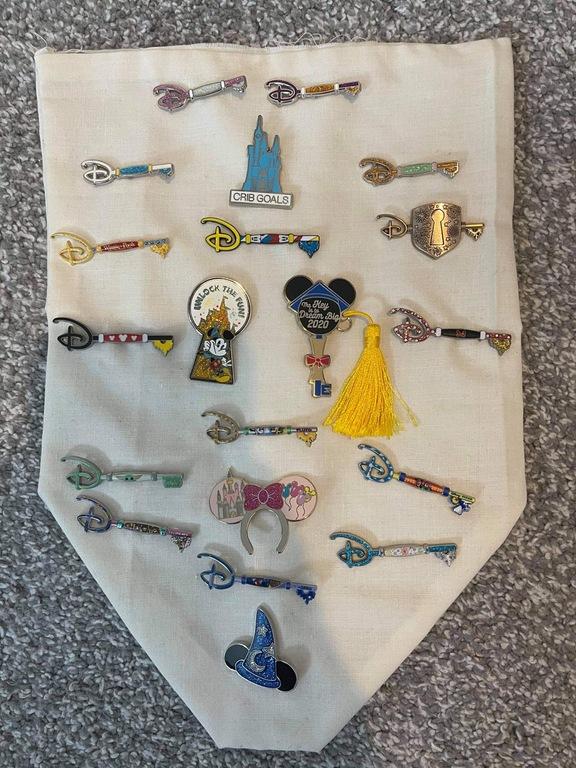 Clair's key pins