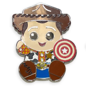 Sheriff Woody - Disney Parks Wishables Mystery Pin Set Blind Pack pin