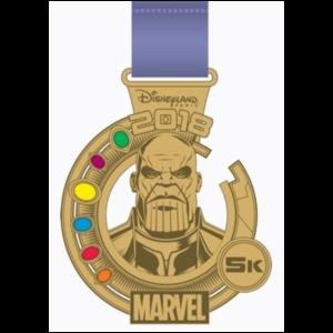 Run Disney 2018 - 5K Medal pin