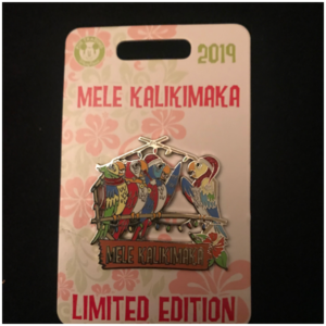 The Enchanted Tiki Room. Melé Kalikimaka pin