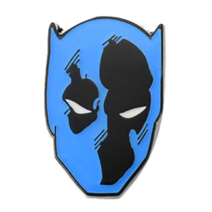 Black Panther face 80th Marvel pin