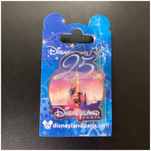 DLP - 25th Anniversary Castle pin pin