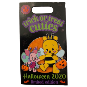 WDW - Halloween 2020 - Trick or Treat Cuties - Pooh & Piglet pin