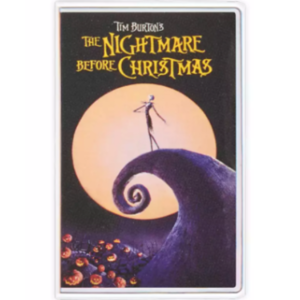Nightmare Before Christmas VHS cover pin
