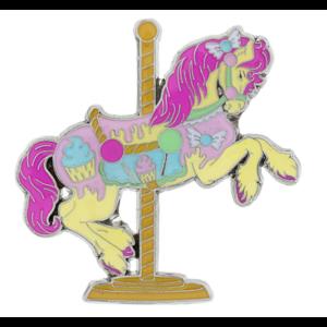 Emporium Sweets carousel horse pin