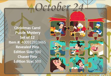 October 24th pin releases