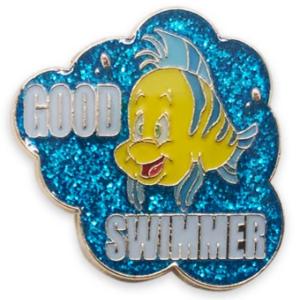 Good Swimmer - Ariel - Disney Princess Memes Flair Pin Set pin