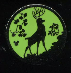 DLR 2015 Hidden Mickey Silhouettes Bambi Completer Disney Pin pin