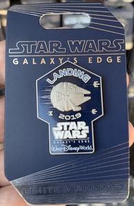 Star Wars Galaxy's Edge Cast Member Pin pin