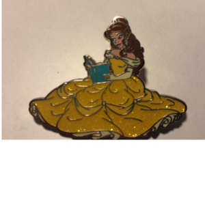 Belle in Ballgown Reading  pin