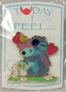 Today I Feel...Loved - Stitch pin