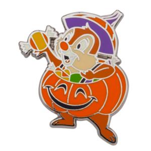 Halloween 2021 - Dale Jack-o'-lanterns pin