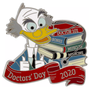 Doctor's Day 2020 pin