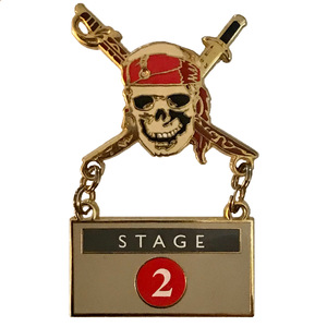 DEC - Pirates of the Caribbean - Stage 2 - Curse of the Black Park pin