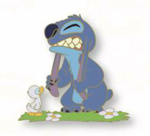 Today I Feel...Exasperated - Stitch pin