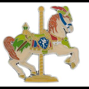 Carousel horse Peter Pan pin
