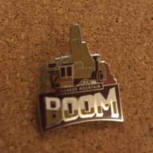 Disney Mascots: Thunder Mountain Boom pin