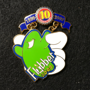 Pin Trading 10th Anniversary Tribute Flubber pin
